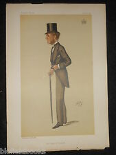 Original Ape Vanity Fair Print - The Earl of Harrowby - November 28th 1885