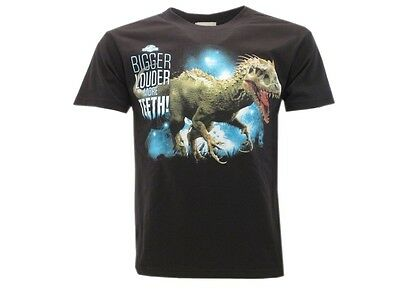 Abbigliamento E Accessori Open-Minded T Shirt Jurassic World Indominus Bambino Nero Tshirt Maglia Maglietta Originale Fine Craftsmanship Bambini 2 - 16 Anni