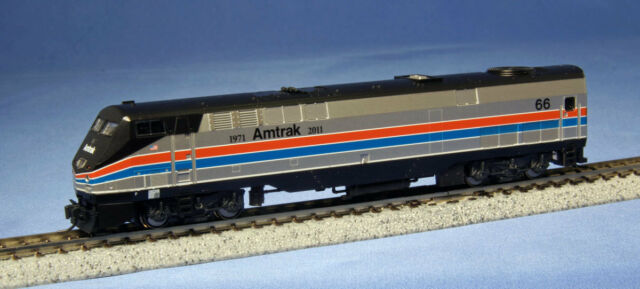 KATO 1766023 N Amtrak 40th Anniversary Ph/II P42 Genesis #66 176-6023 -NEW