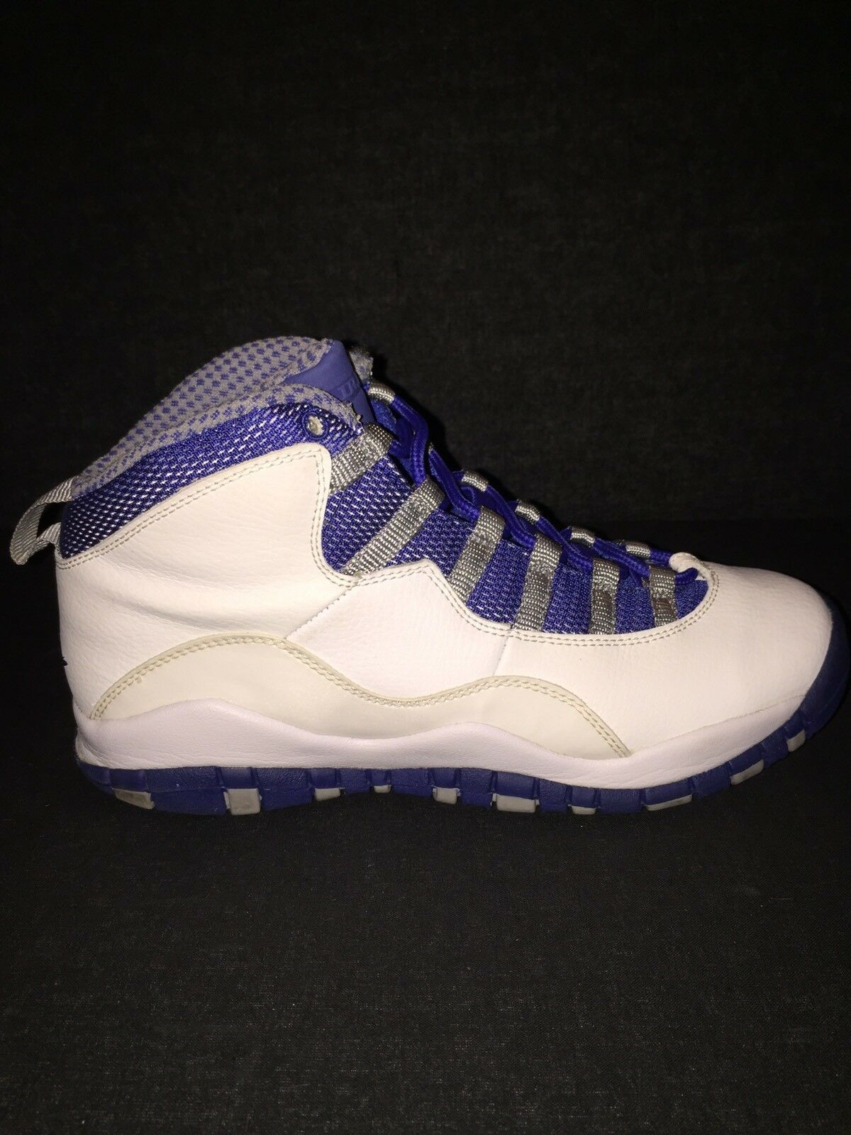 Nike Air Jordan Retro OG Blue Steel 10s Comfortable New shoes for men and women, limited time discount
