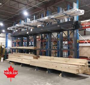 Regular Duty Structural Cantilever Racking - In Stock Ready For Quick Ship to Kitchener Area Kitchener / Waterloo Kitchener Area Preview
