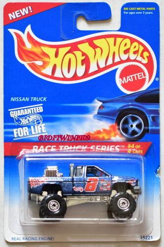 HOT WHEELS 1995 RACE TRUCK SERIES NISSAN TRUCK #4//4