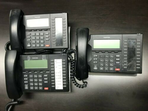 Details about  /Toshiba DP5032-SD 20-Button Speakerphone Digital Phone With 4-Line Display