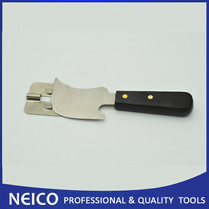 Free Shipping High Quality Quarter Moon Knife Flat With