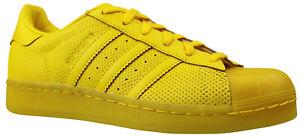 Details zu Adidas Originals Superstar Adicolor Sneaker Schuhe S80328 gelb Gr. 36,5 & 37 NEU