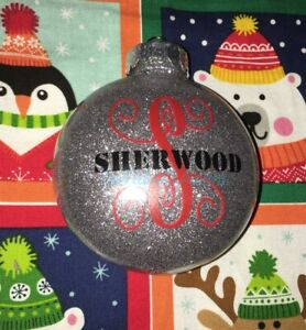 "Custom Christmas bulbs Ornaments 3"" in. or 4"" in ..."