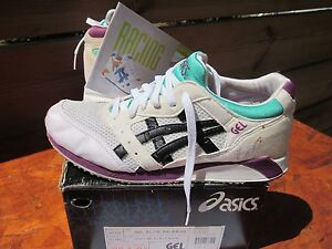 ORIGINAL ASICS GEL ELITE RACER GN300 US9 VINTAGE 1990 FIEG KITH OFF WHITE