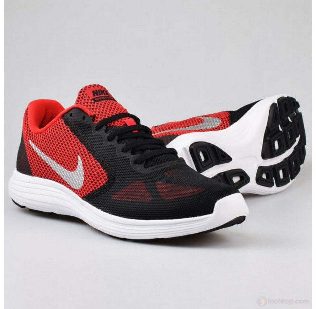 Nike Revolution 3 running University ROT Metallic Silver running 3 training 819300-600 365811