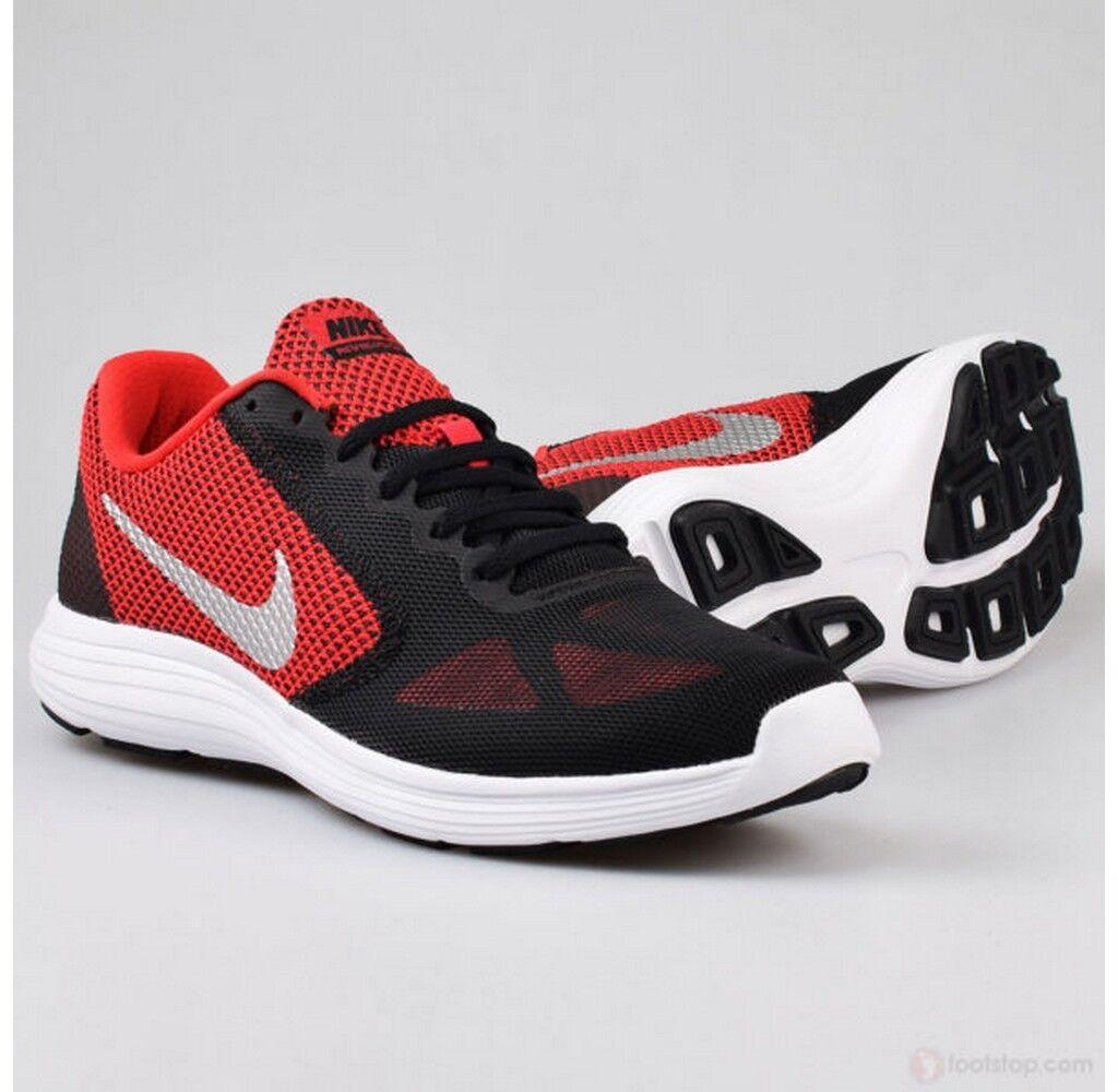 Nike Revolution 3 3 3 University rot Metallic Silber running training 819300-600 817e4a