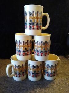 Indian Dancers Native American Coffee Mug Cup Lot Of 6 Made In Indonesia Ebay