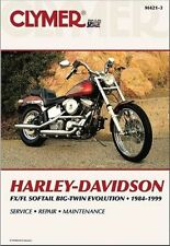 1984-1999 Harley Softail FLS FXS Repair Service Workshop Shop Manual Book M4213