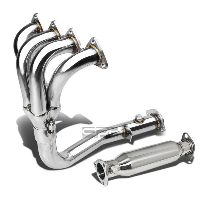 4-1 Racing Manifold Header+Exhaust Pipe Fit 92-93 Acura