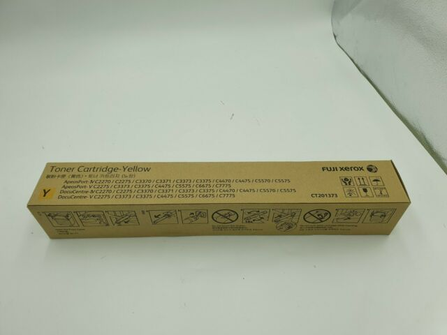 Genuine FujiXerox CT201373 Yellow Toner cartridge