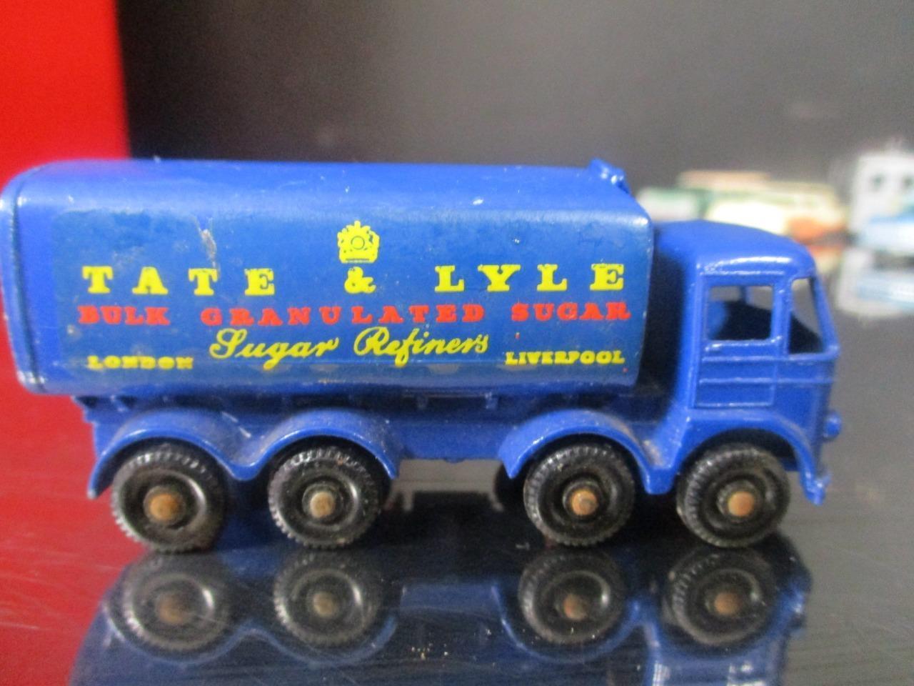 Vintage Lesney Matchbox  10 camión contenedor de de de azúcar regular ruedas XLNT 1961 07f5d7