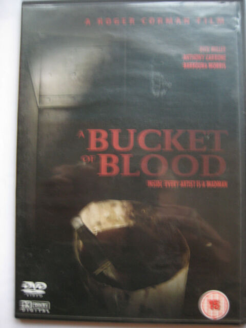Bucket of Blood (DVD, 1959) Roger Corman HORROR NEW SEALED PAL Region 0