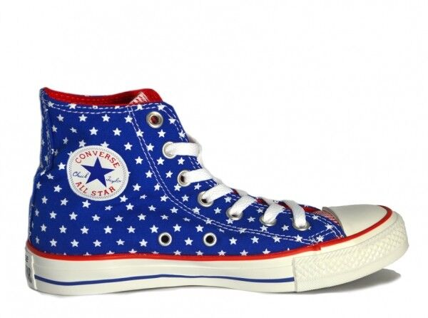 CONVERSE USA Stars High Top Trainers Unisex Mens Damenschuhe Größe 5 NEW BOXED