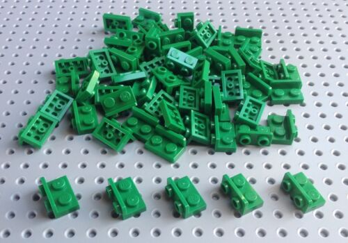 99780 Lego Green 1x2 by 1x2 Up Hinge Plate x10 *BRAND NEW* Star Wars City