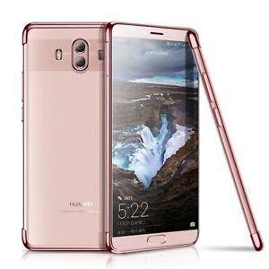Huawei-Mate-10-Pro-Funda-Estuche-Movil-Funda-Protectora-Carcasa-Fucsia