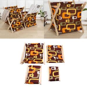 Wood Folding Storage Rack Shelf Sundries Magazine Phone Organizer Holder Bedroom