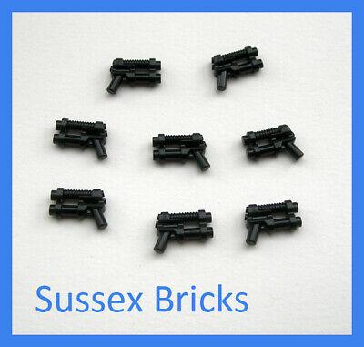 LEGO NEW White Gun Two Barrel Pistol Lot x2 Star Wars Space Ninjago Weapon 95199