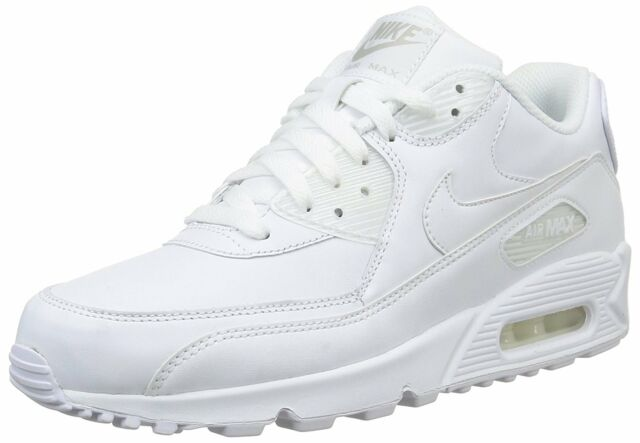 Chaussures NIKE Air Max 90 Leather 302519 113 True WhiteTrue White