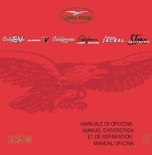 CD MANUALE OFFICINA MOTO GUZZI CALIFORNIA EV-TOURING-ALUMINIUM-TITANIUM-STONE