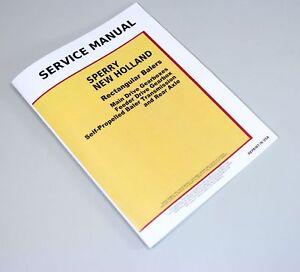 sperry new holland square baler service manual 65 67 68 69 78 s 78 rh ebay com new holland 66 baler manual new holland 658 baler manual