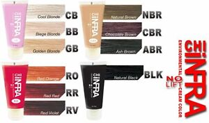 Farouk Chi Environmental Color Cream No Lift Ro Rv Rr Gb Nbr Abr Bb