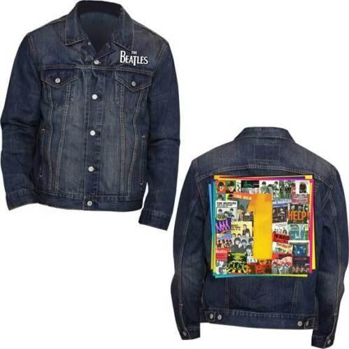 Adulto Classico Di Beatles Giacca The Rock Album Musica 1 Jeans Gruppo Da Uomo UIzISwaq