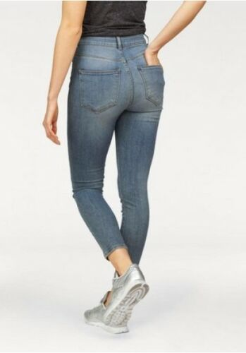 Neuf Us L32 W26 Posh Haut Jeans Femmes Bleu Taille Pantalon IzzBqX