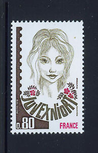 FRANCIA-FRANCE-1978-MNH-SC-1597-JUVEXNIORT-Philatelic-Exhb