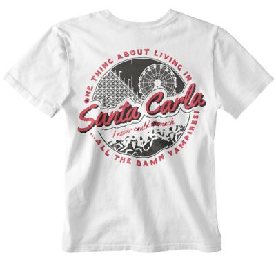 Santa Carla T shirt The Lost Boys Horror Sci Fi Vampire Zombie Tv Show Film