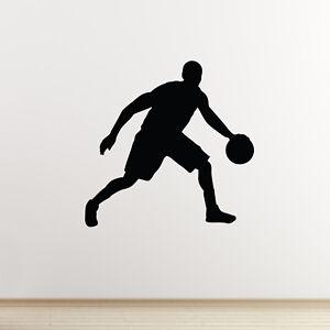 Basketballer Autocollant Mural-crossover Dribble Sports Autocollant Mural-afficher Le Titre D'origine