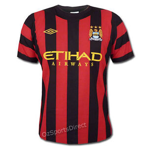 new arrival 9a22b 831cb Details about Manchester City FC 11/12 Away Jersey Size 44