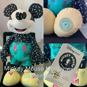NWT-Disney-Store-September-Mickey-Mouse-Memories-Plush-Limited-Release