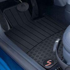 Mini Cooper S Rubber Floor Mats Floormat R52 R53 2002-2006 Set Of 2 Front OEM