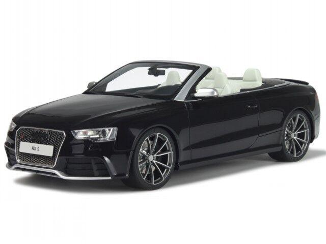 Audi A5 RS5 Cabrio schwarz Modellauto hT093 GT-Spirit 1 18  | Ästhetisches Aussehen