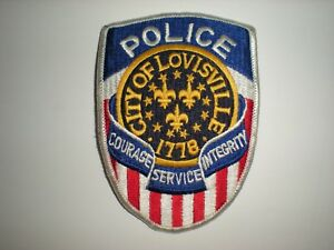 Details about LOUISVILLE, KENTUCKY POLICE DEPARTMENT PATCH