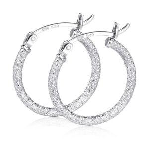 MATERIA-Creolen-Silber-925er-20mm-Glitzer-Ohrringe-Damen-rhodiniert-diamantiert
