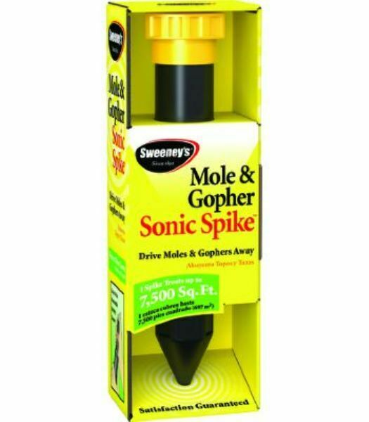 Sweeney/'s Mole and Gopher Sonic Spike Lot of 4