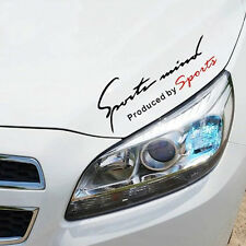 1*Car Sports Mind Decorative Decal Stickers Reflective TRD Vinyl Graphic Sticker