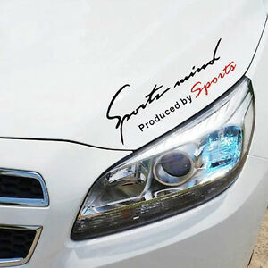 Car Sports Mind Decorative Decal Stickers Reflective TRD Vinyl - Sport decal stickers for cars
