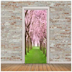 3D Self Adhesive Door Sticker DIY Decor Poster for Home Room Decor