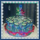 20 lecca lecca base SuperPigiamini PJ Masks MASHA FROZEN Festa compleanno party