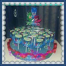 20 lecca lecca base SuperPigiamini PJ Masks WINX FROZEN Festa compleanno party
