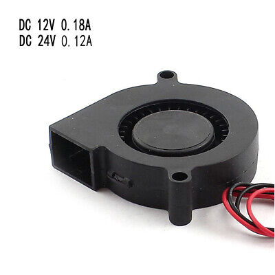 Component 5015 12//24V Air Turbin Brushless Blower DC Cooling Fan Blast Airfan