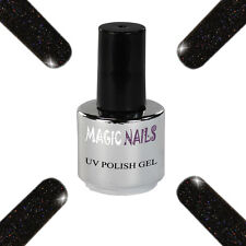UV Polish Soak Off Gel Nail Art Nagellack Farbe # Onyx