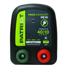 Patriot Pe10 Fence Energizer 030 Joule For Electric Fence