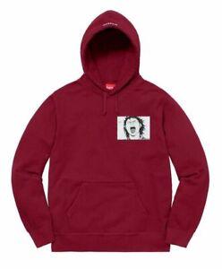 Supreme-Akira-Patches-Hooded-Sweatshirt-Cardinal-Size-Large-FW17-Hoodie-Mens