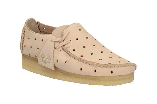 Clarks Originals Femme  Wallabee Wallabee Wallabee LOUGRE Rose Clair élégant  UK 4,5,6,7 D ed1def